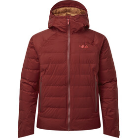 Rab Valiance Jas Heren, oxblood red